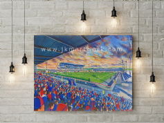 caledonian stadium canvas a2 size